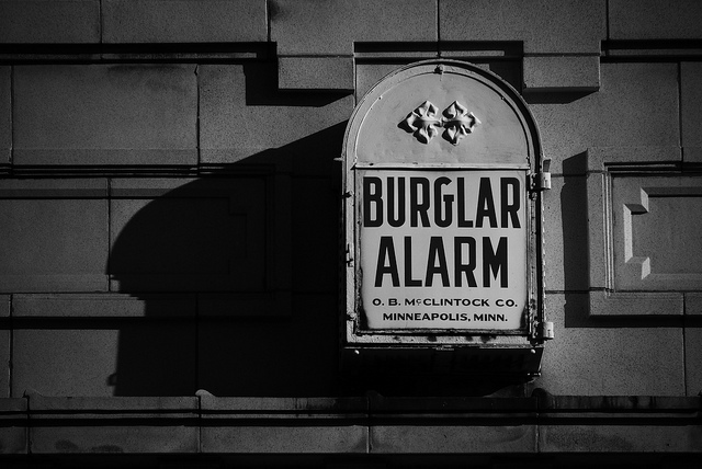 """Burglars Burgle Elsewhere"" by hobvias sudoneighm, cc license"