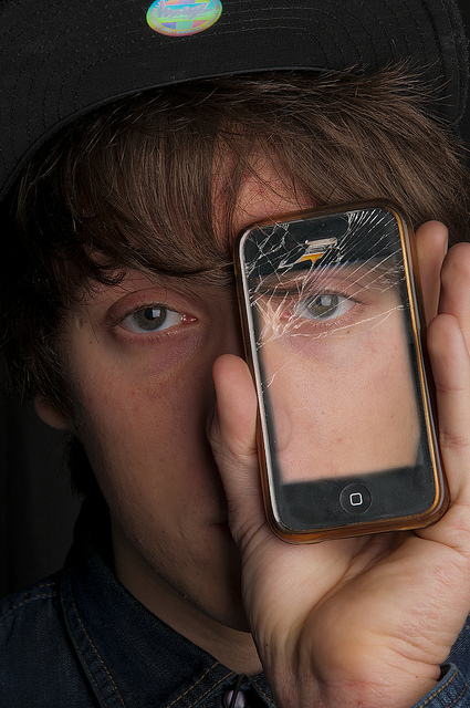 """the eye phone"" by flickr user lee morley (spookman01), cc license.jpg"