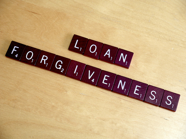 loan forgiveness by lending memo